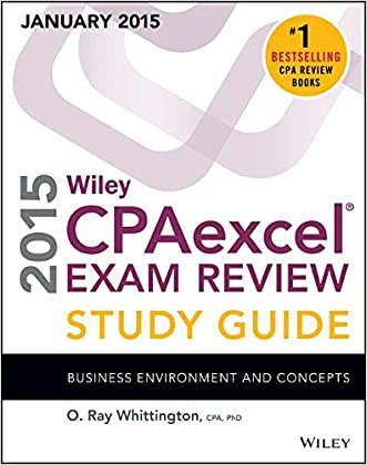 Wiley CPAexcel Exam Review 2015 Study Guide (January): Business Environment and Concepts (Wiley Cpa Exam Review Business Environment & Concepts)