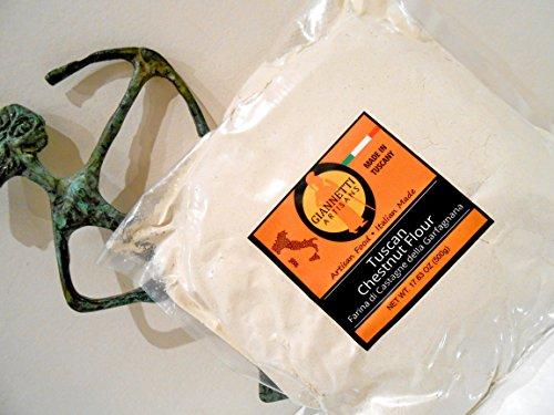 Tuscany's Natural Chestnut Flour - Farina di Castagne (Water Chestnut Flour compare prices)