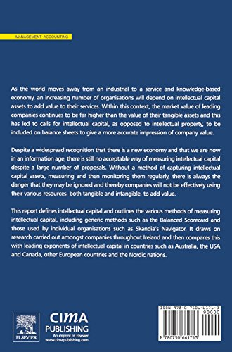 Intellectual Capital: Measuring the Immeasurable? (CIMA Research)
