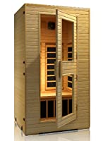 JNH Lifestyles 1-2 Person Far Infrared Sauna Latest Carbon Fiber Heaters