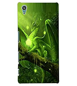 ColourCraft Dragon Design Back Case Cover for SONY XPERIA Z5