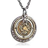 Sweet Romance Cancer Zodiac Astrology Pendant Necklace