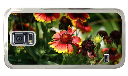 Cheap Samsung I9600 Case For Cheap Cover Blanket Flowers Pc Transparent For Samsung S5,Samsung Galaxy S5,Samsung I9600 front-853978