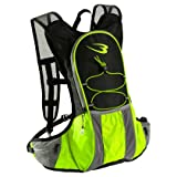 ランニングバッグ サイドポケット ブラック×グリーン : BR011BKGR 【BODYMAKER / ボディメーカー 】 BB-SPORTS