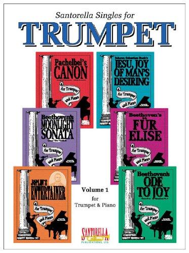 Santorella Singles for Trumpet & Piano