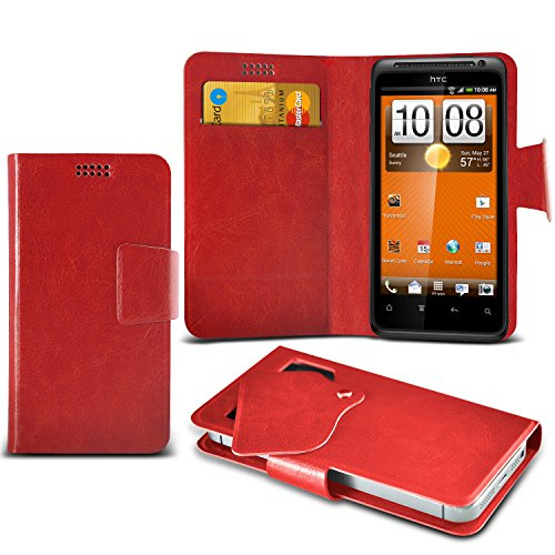 red-htc-evo-shift-4g-protective-mega-thin-faux-leather-suction-pad-wallet-case-cover-skin-with-credi