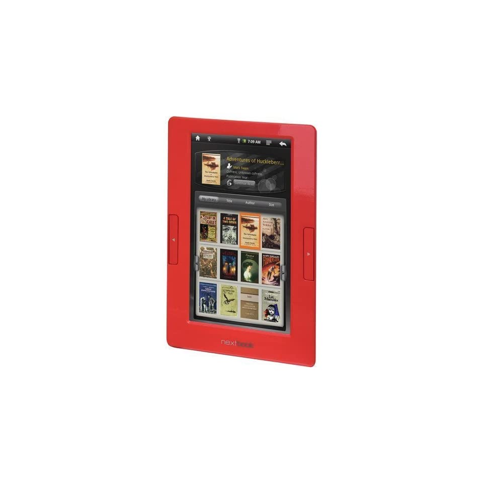 NextBook NEXT2 7 Inch Touch Screen Android Tablet (RED)
