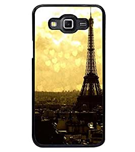 PRINTSWAG TOWER WITH HEARTS Designer Back Cover Case for SAMSUNG GALAXY GRAND MAX