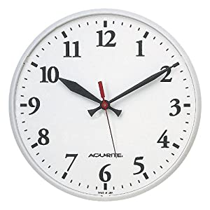 Chaney Instrument 12-1/2-Inch Basic Clock (Discontinued by Manufacturer)