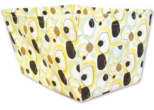 Trend Lab Fabric Storage Bin, Giggles Print, Large - 1