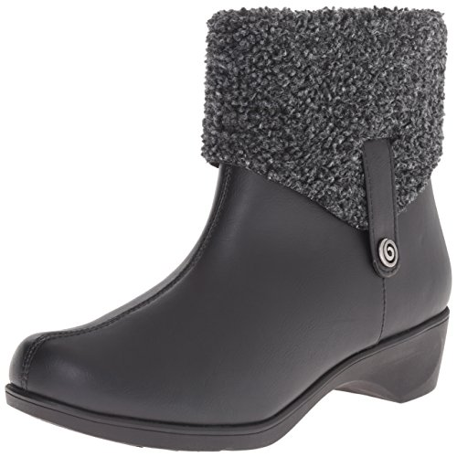 Soft Style by Hush Puppies Women's Kendria Boot, Black, 8.5 M US (Style And Company Booties compare prices)