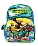 "Teenage Mutant Ninja Turtle Small Backpack - Power 12"" Boys Toddler Bag TMNT"