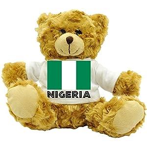 Nigeria National Flag - Plush Teddy Bear