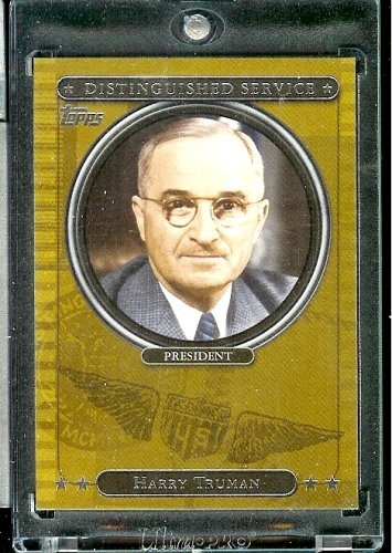 2007 Topps Distinguished Service #DS9 Harry Truman President Baseball Card - Shipped in Protective Display Case! - Buy 2007 Topps Distinguished Service #DS9 Harry Truman President Baseball Card - Shipped in Protective Display Case! - Purchase 2007 Topps Distinguished Service #DS9 Harry Truman President Baseball Card - Shipped in Protective Display Case! (Topps, Toys & Games,Categories,Games,Card Games,Collectible Trading Card Games)