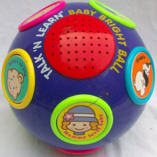 51s6QInC5dL Cheap Price Talk N Learn, Baby Bright Ball Toy