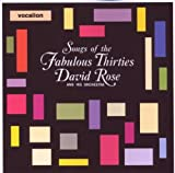 Songs of the Fabulous Thirties