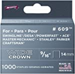 Arrow Fastener 60930 9/16-Inch Wide C...