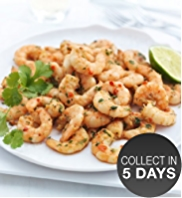 Honduran King Prawns with Chilli & Coriander Marinade
