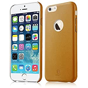 """iPhone 6 Case, Baseus® Ultra Slim Light Leather Back Case for iPhone 6 4.7"""" (Thin Series -Brown)"""