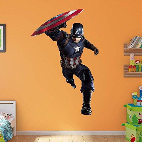 Marvel Captain America Civil War Attack Realbig (Fathead Captain America compare prices)