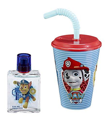 Paw Patrol con sacchetto di acqua per WC, in vetro, 50 ml