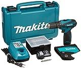 マキタ 充電式震動ドライバドリル 10.8V 1.3Ah バッテリー2個付き HP330DWX