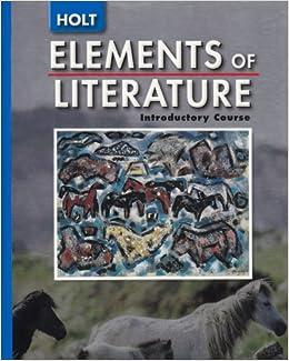 Holt Elements of Language Books