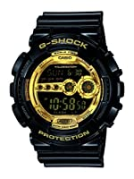 Casio G-Shock Digital Gold Dial Men's Watch - GD-100GB-1DR (G340)