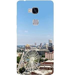 Casotec Atlanta Design Hard Back Case Cover for Huawei Honor 5X
