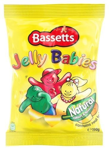 Bassetts Jelly Babies 190g Bag x5 (British Jelly compare prices)