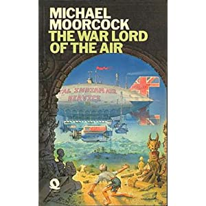 cover of Moorcock's Warlords of the Air