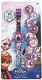 Frozen - Disney Reloj Digital con 10 mantas 1027-64125