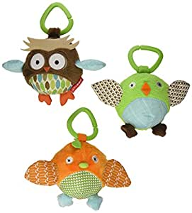 Skip Hop Treetop Friends Animal Ball Trio (Discontinued by Manufacturer)