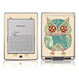 TaylorHe Colourful Decal Vinyl Skin for Amazon Kindle Touch Ultra-slim protection with pretty patterns MADE IN BRITAIN owl, cute, cartoon