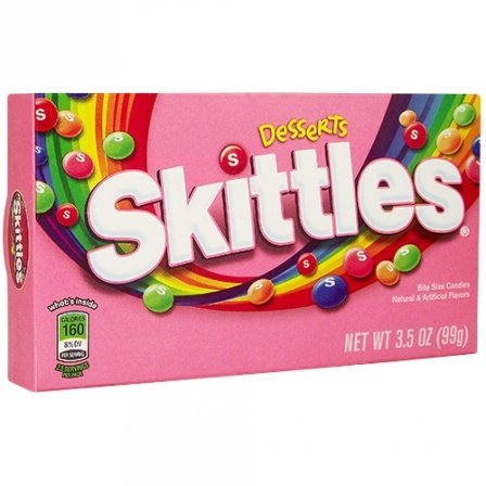 Skittles Desserts Bite Size Candies 3.5 Oz front-986865