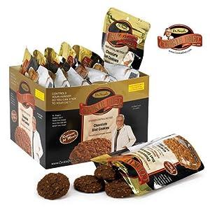 Dr. Siegal's COOKIE DIETn++ Chocolate Diet Cookies (One Week Supply)