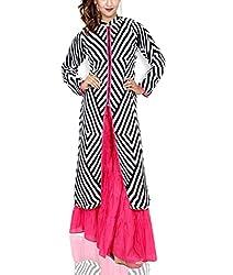 Amitas Boutique Casual Dress Colour lemon White Black & pink