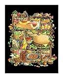 Thougためのシャドーハント-Food - キャンバス上のファインアートプリント - 小 : 67 cms X 85 cms