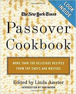 Ny Times Passover Cookbook