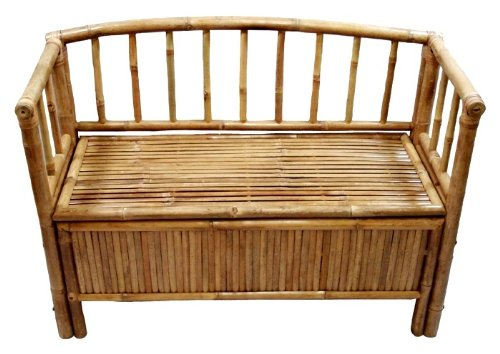 Bamboo 54 Bamboo Storage Bench