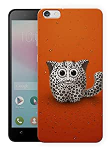"Humor Gang Cute Baby Cat Printed Designer Mobile Back Cover For ""Huawei Honor 4X"" (3D, Matte, Premium Quality Snap On Case)"