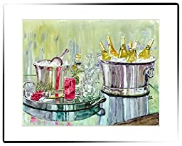 Rainbow Card Company Large Matted Print - Open Bar