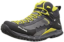 Salewa Hike Roller Mid GTX Speed Ascent Shoe, Pewter/Kamille, 12 M US