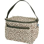 Quilted Lunch Totes - Leopard - By Threadart