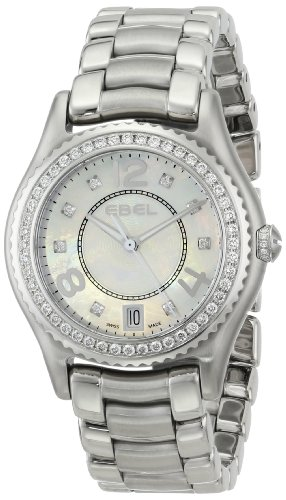 EBEL Women's 1216110 X-1 Analog Display Swiss Quartz Silver Watch