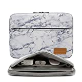 Canvaslife Marble Pattern 360 Degree Protective Waterproof Laptop Sleeve 15 Inch 15 Case and 15.6 Laptop Bag (Color: Marble, Tamaño: 15 inch/15.6 inch)