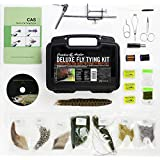Wetfly Featuring Creative Angler Deluxe Fly Tying Kit with Book and Dvd. This Is Our Most Popular Fly Tying Kit.