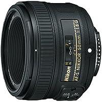 Nikon AF-S Nikkor 50mm f/1.8G Prime Lens for Nikon DSLR Camera