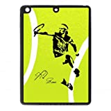 Happinessexplorer Silicone Creative World Tennis Star Rafael Nadal Ipad Air Case - Fits Ipad Air