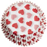 Wilton Hearts Baking Cups, 75 Count